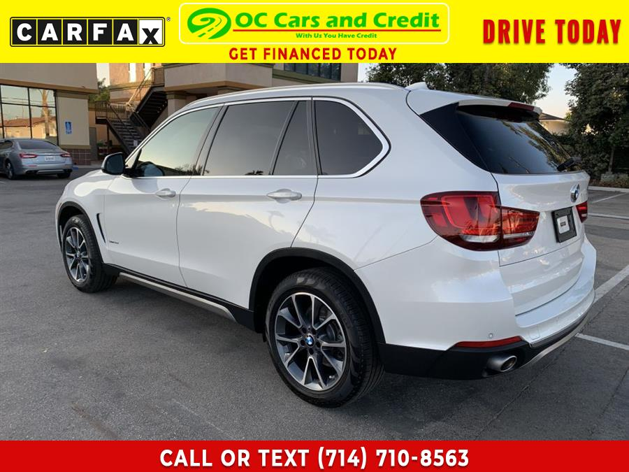 Used BMW X5 SDRIVE 35I 2017   OC Cars and Credit. Garden Grove, California
