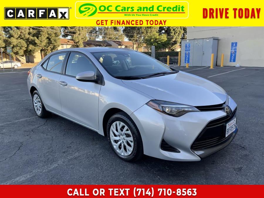 Used Toyota Corolla LE 2019 | OC Cars and Credit. Garden Grove, California
