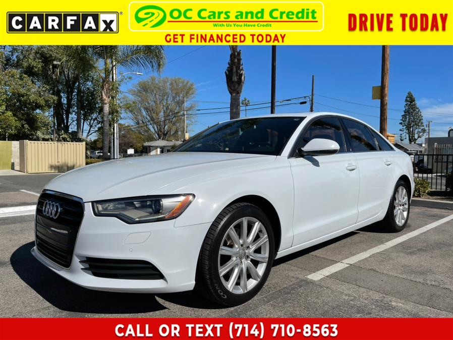 Used 2013 Audi A6 in Garden Grove, California | OC Cars and Credit. Garden Grove, California