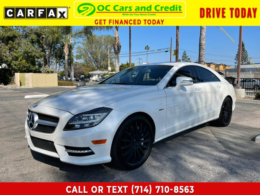 Used 2012 Mercedes-Benz CLS-Class in Garden Grove, California | OC Cars and Credit. Garden Grove, California