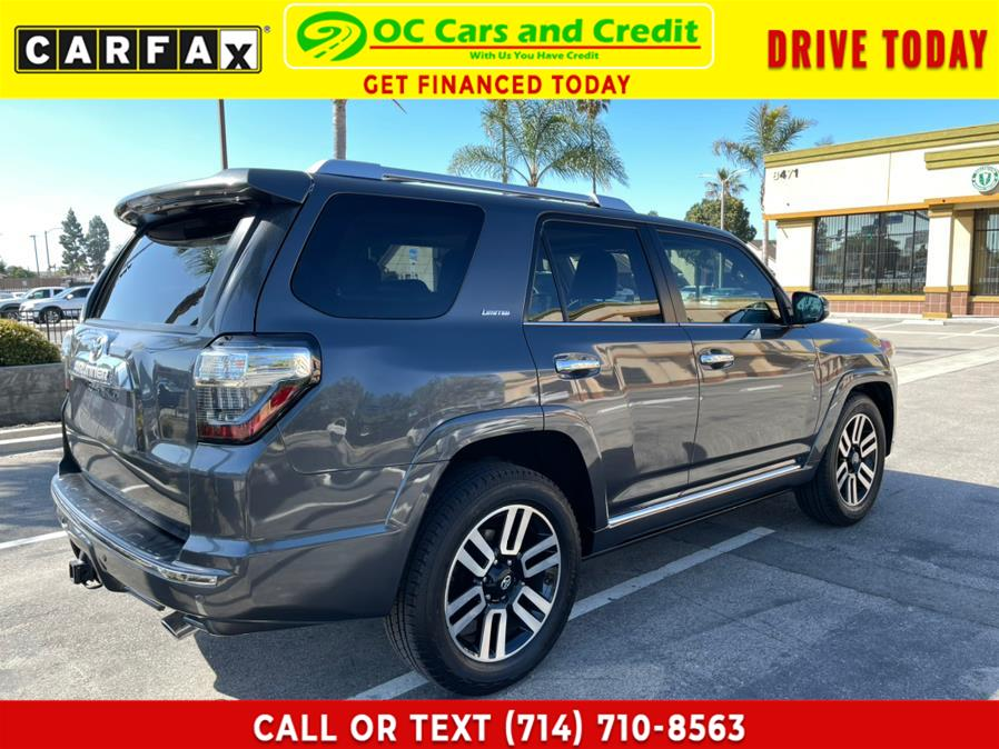 Used Toyota 4Runner RWD 4dr V6 Limited (Natl) 2015 | OC Cars and Credit. Garden Grove, California