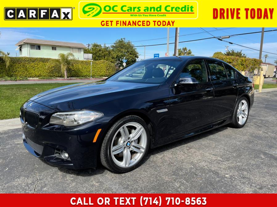 Used 2016 BMW 5 Series MSport in Garden Grove, California | OC Cars and Credit. Garden Grove, California