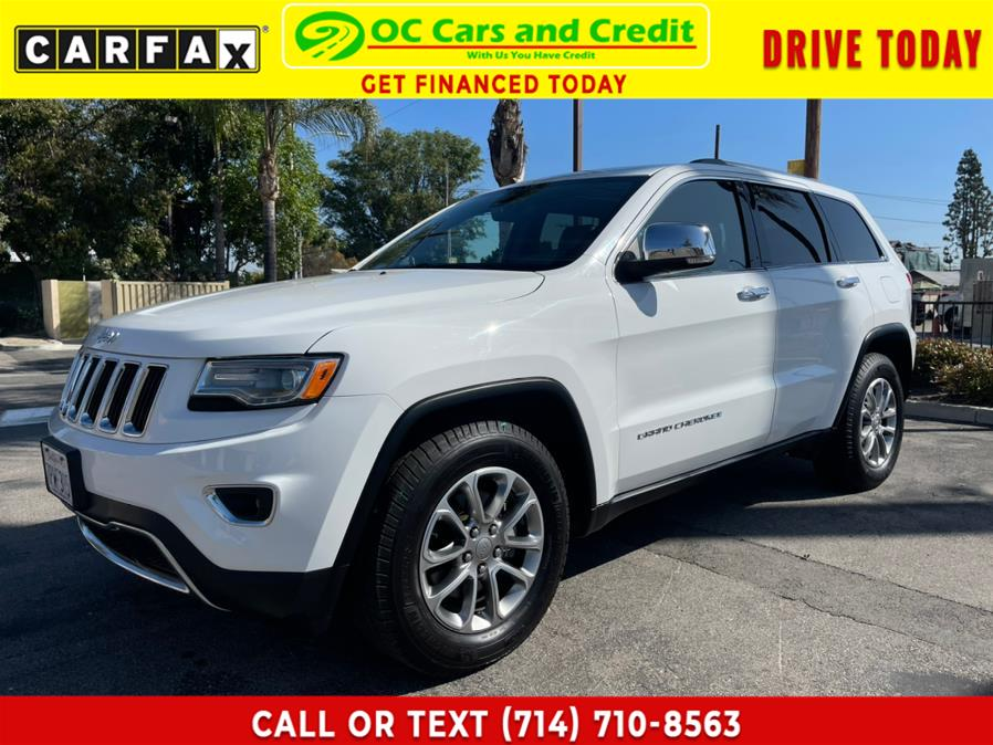 Used 2015 Jeep Grand Cherokee in Garden Grove, California | OC Cars and Credit. Garden Grove, California