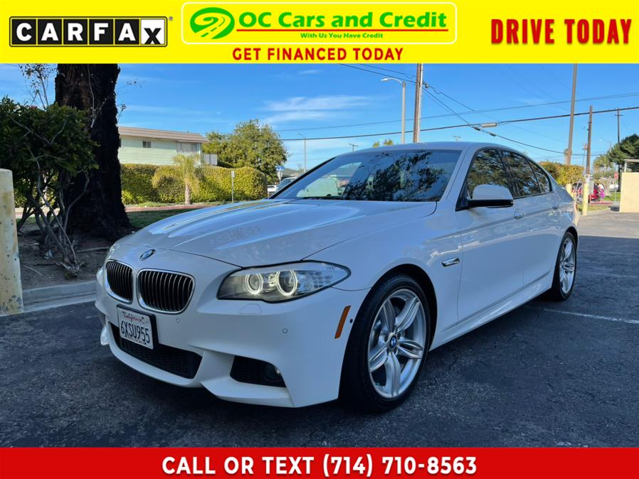 Used BMW 5 Series MSport 4dr Sdn 535i RWD 2013 | OC Cars and Credit. Garden Grove, California
