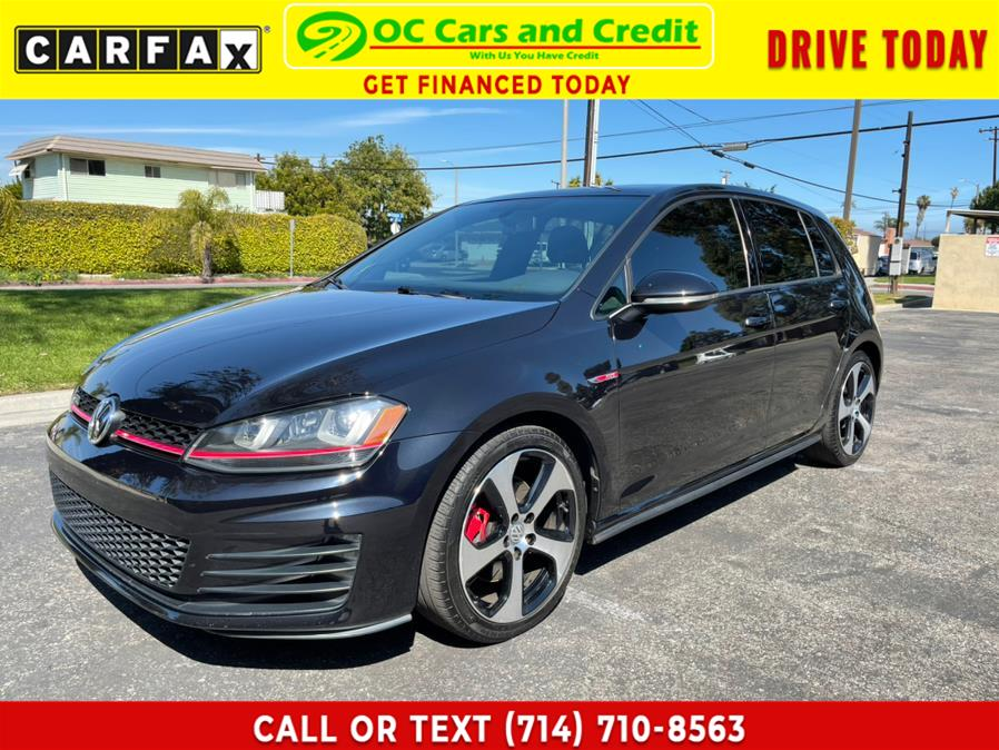 Used 2016 Volkswagen Golf GTI in Garden Grove, California | OC Cars and Credit. Garden Grove, California