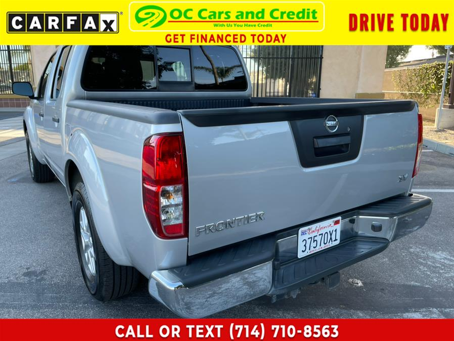 Used Nissan Frontier 2WD Crew Cab SWB Auto SV 2016   OC Cars and Credit. Garden Grove, California