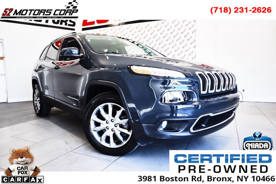 Used Jeep Cherokee Limited 4x4 2018 | 52Motors Corp. Woodside, New York