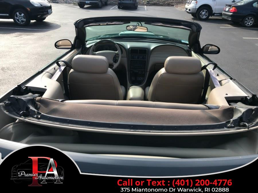 Used Ford Mustang 2dr Conv GT Deluxe 2003 | Premier Automotive Sales. Warwick, Rhode Island