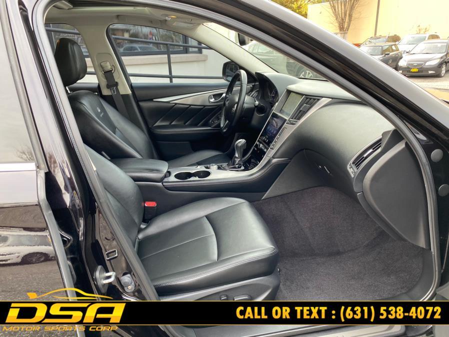 Used INFINITI Q50 4dr Sdn Premium AWD 2014 | DSA Motor Sports Corp. Commack, New York