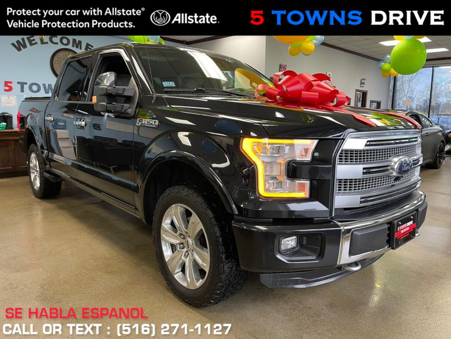 "Used Ford F-150 4WD SuperCrew 145"" Platinum 2015 