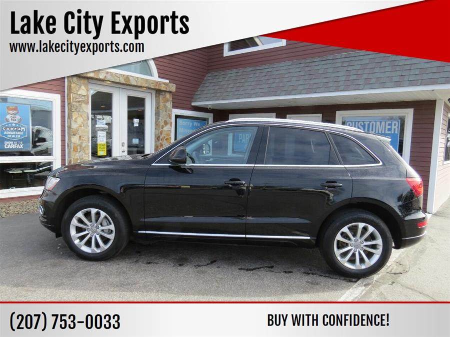 Used Audi Q5 2.0T quattro Premium Plus AWD 4dr SUV 2013 | Lake City Exports Inc. Auburn, Maine