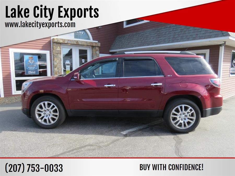 Used GMC Acadia SLT 1 AWD 4dr SUV 2015 | Lake City Exports Inc. Auburn, Maine