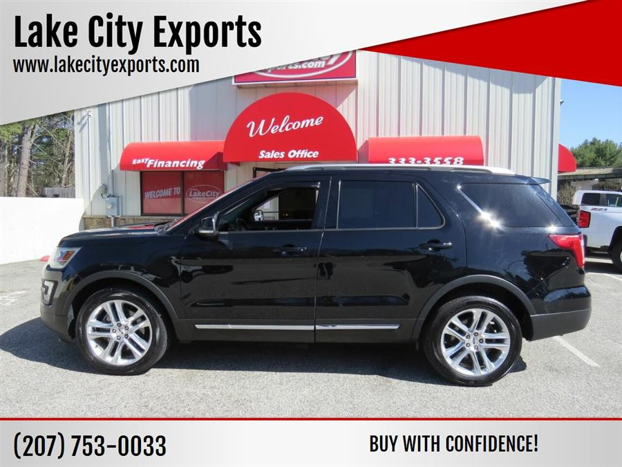 Used Ford Explorer XLT AWD 4dr SUV 2016 | Lake City Exports Inc. Auburn, Maine