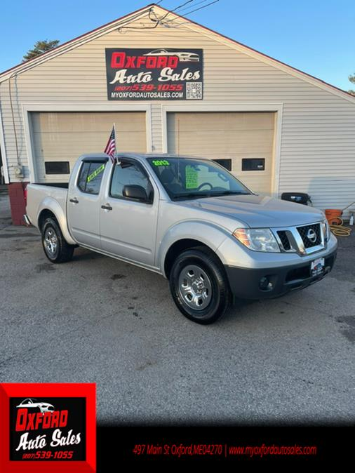 Used Nissan Frontier 4dr Crew Cab 2013 | Oxford Auto Sales. Oxford, Maine
