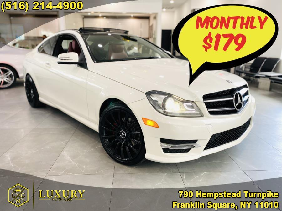 Used Mercedes-Benz C-Class 2dr Cpe C250 2014 | Luxury Motor Club. Franklin Square, New York