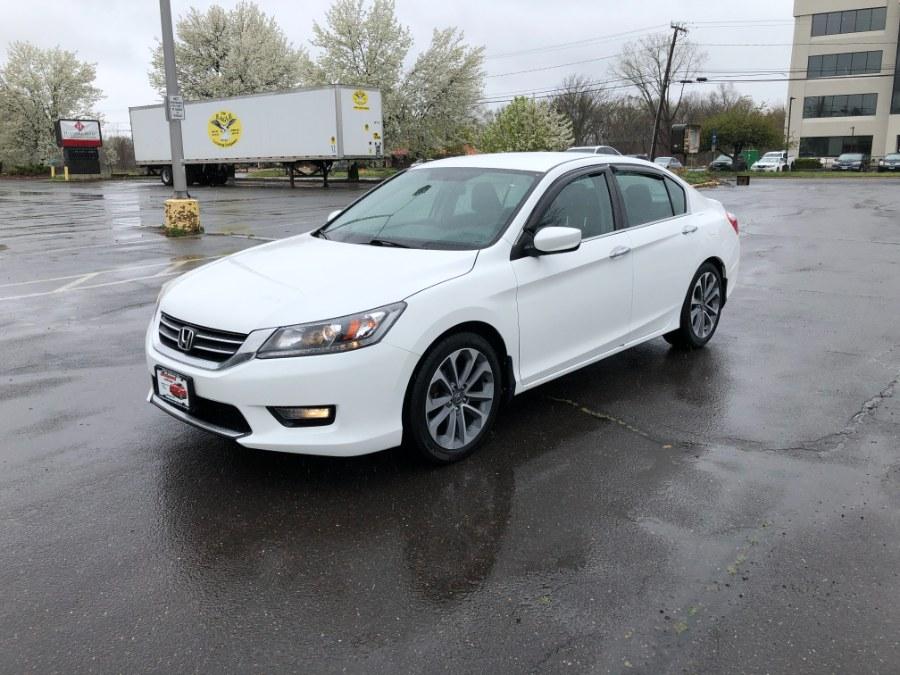 Used Honda Accord Sedan 4dr I4 CVT Sport 2015   Ledyard Auto Sale LLC. Hartford , Connecticut