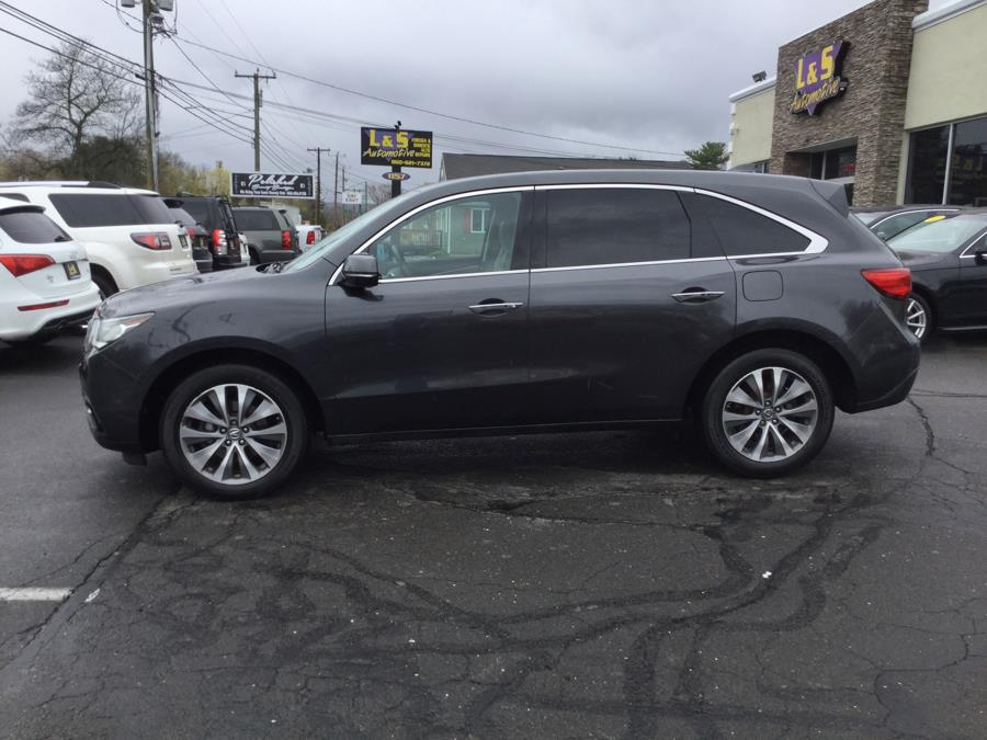 Used Acura MDX SH-AWD 4dr Tech Pkg 2014 | L&S Automotive LLC. Plantsville, Connecticut