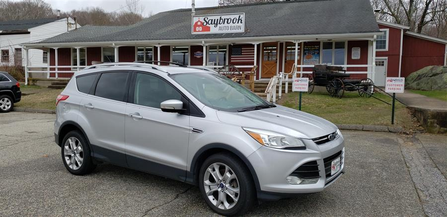 Used Ford Escape 4WD 4dr Titanium 2016 | Saybrook Auto Barn. Old Saybrook, Connecticut