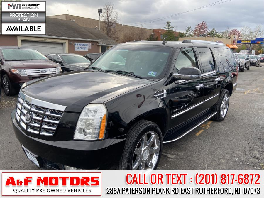 Used Cadillac Escalade ESV AWD 4dr 2008 | A&F Motors LLC. East Rutherford, New Jersey