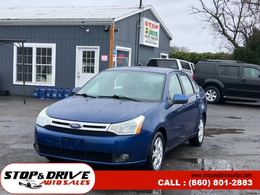Used Ford Focus 4dr Sdn SES 2009 | Stop & Drive Auto Sales. East Windsor, Connecticut