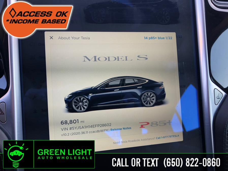 Used Tesla Model S P85+ 2014   Green Light Auto Wholesale. Daly City, California