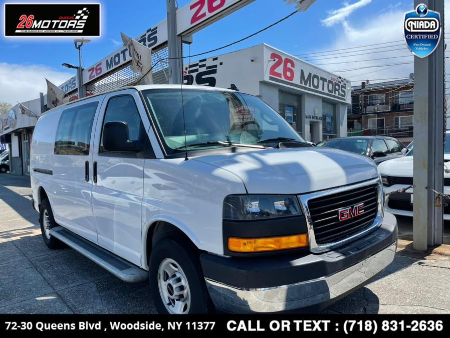 Used 2019 GMC Savana Cargo Van in Woodside, New York | 26 Motors Queens. Woodside, New York