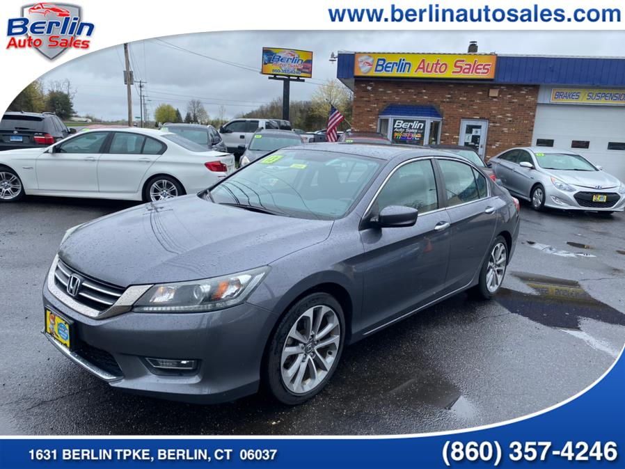 Used 2013 Honda Accord Sdn in Berlin, Connecticut | Berlin Auto Sales LLC. Berlin, Connecticut