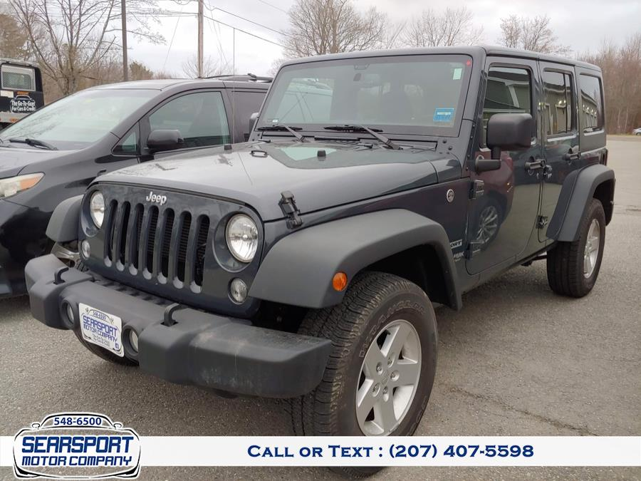 Used 2018 Jeep Wrangler JK Unlimited in Searsport, Maine | Searsport Motor Company. Searsport, Maine