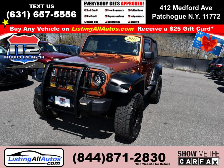 Used 2011 Jeep Wrangler in Patchogue, New York | www.ListingAllAutos.com. Patchogue, New York