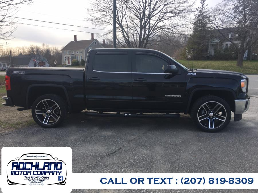 Used 2015 GMC Sierra 1500 in Rockland, Maine   Rockland Motor Company. Rockland, Maine