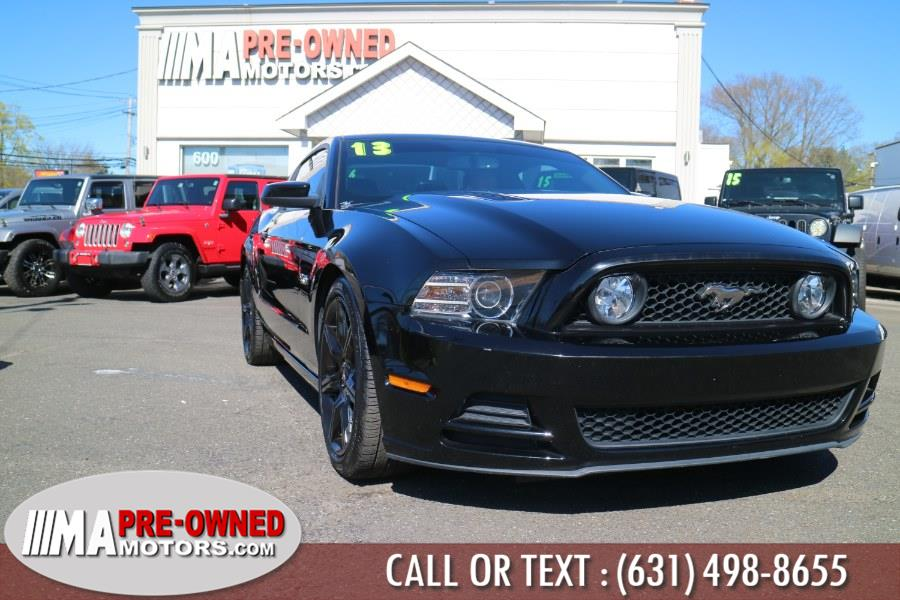 Used Ford Mustang GT 6 speed 2dr Cpe GT Premium 6speed 2013 | M & A Motors. Huntington, New York