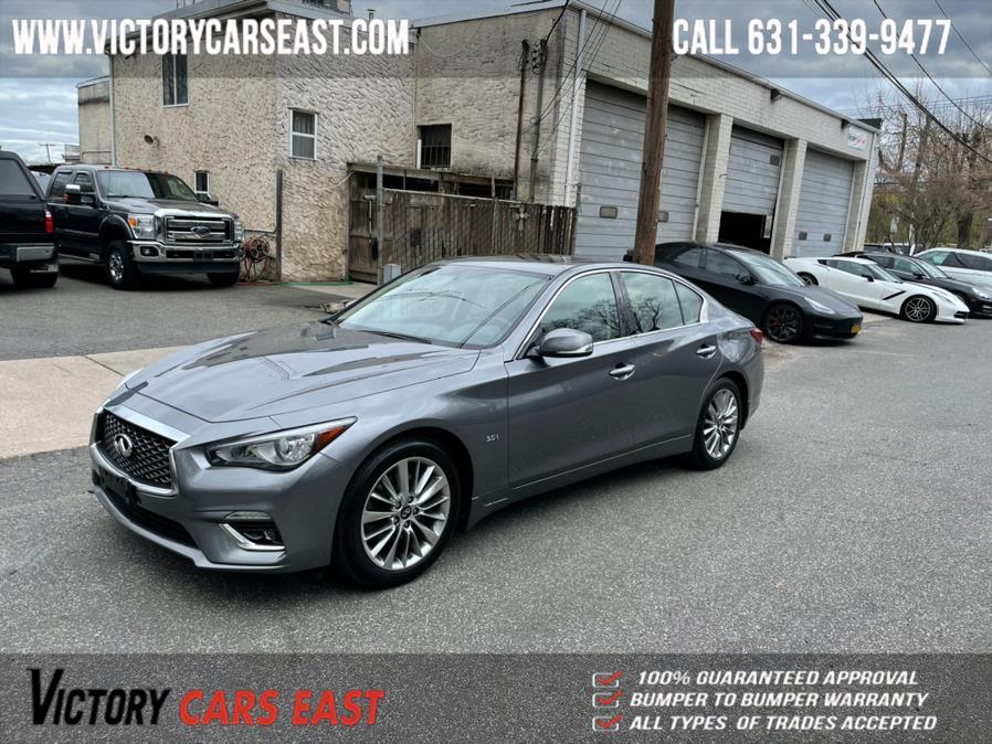 Used INFINITI Q50 3.0t LUXE AWD 2018 | Victory Cars East LLC. Huntington, New York