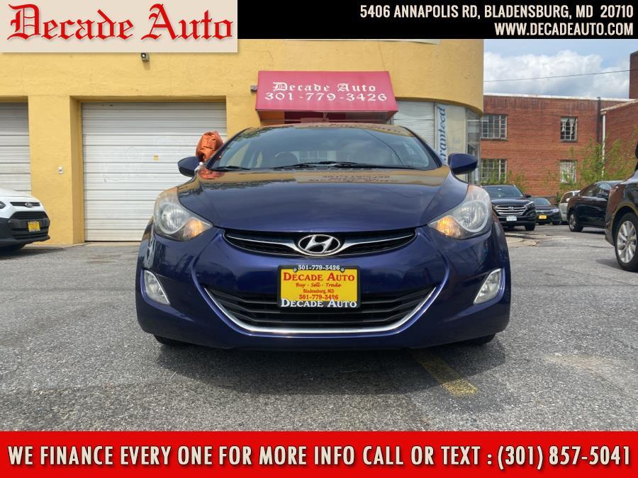 Used 2012 Hyundai Elantra in Bladensburg, Maryland | Decade Auto. Bladensburg, Maryland