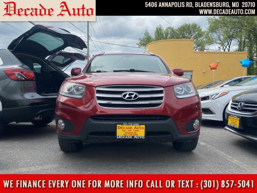 Used 2012 Hyundai Santa Fe in Bladensburg, Maryland | Decade Auto. Bladensburg, Maryland