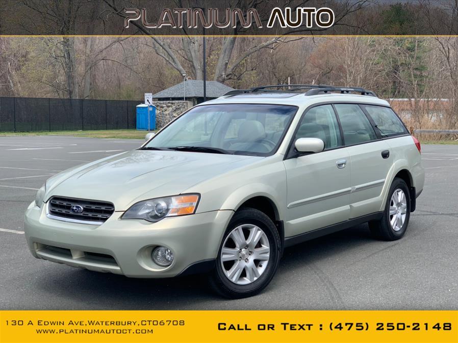 Used Subaru Legacy Wagon (Natl) Outback 2.5i Ltd Manual 2005 | Platinum Auto Care. Waterbury, Connecticut