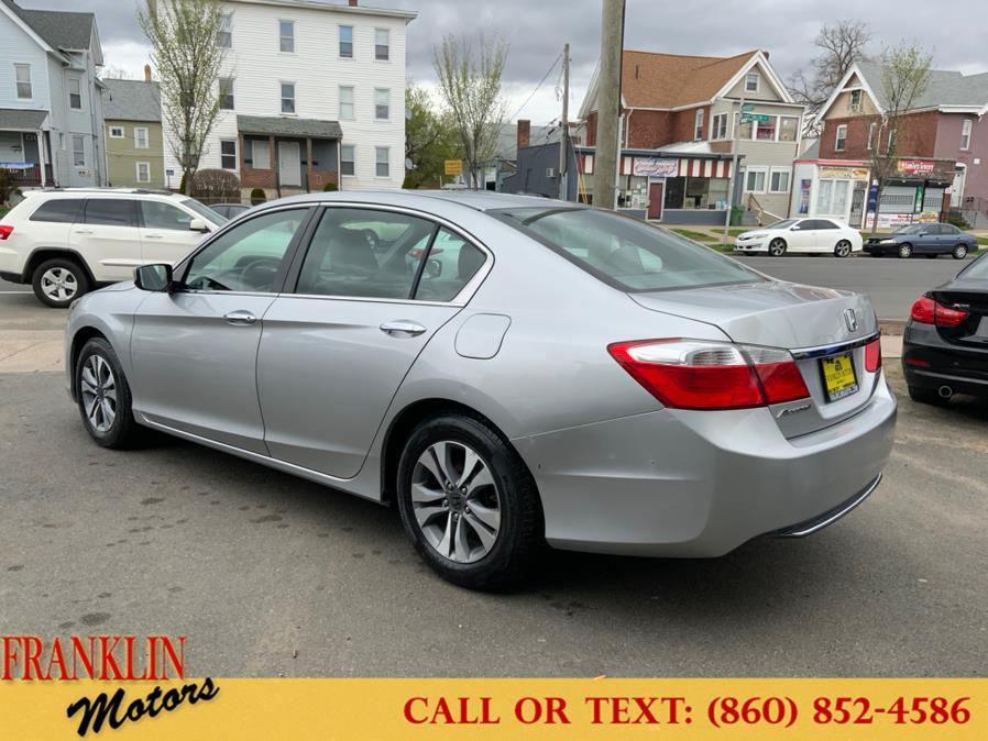 Used Honda Accord Sedan 4dr I4 CVT LX 2014   Franklin Motors Auto Sales LLC. Hartford, Connecticut