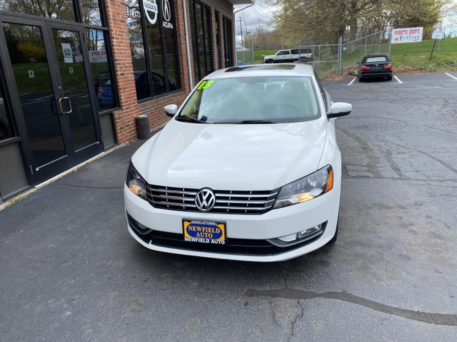 Used Volkswagen Passat 4dr Sdn 2.0L DSG TDI SEL Premium 2013 | Newfield Auto Sales. Middletown, Connecticut