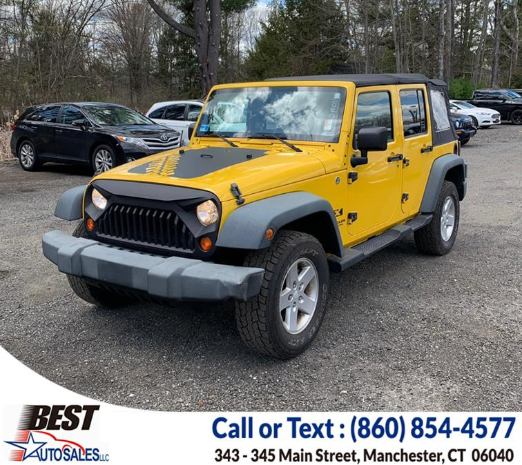 Used Jeep Wrangler 4WD 4dr Unlimited X 2008 | Best Auto Sales LLC. Manchester, Connecticut