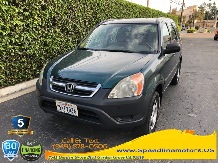 Used Honda CR-V 2WD LX Auto 2003 | Speedline Motors. Garden Grove, California