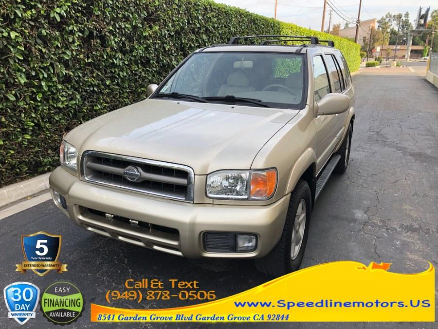 Used 2001 Nissan Pathfinder in Garden Grove, California | Speedline Motors. Garden Grove, California