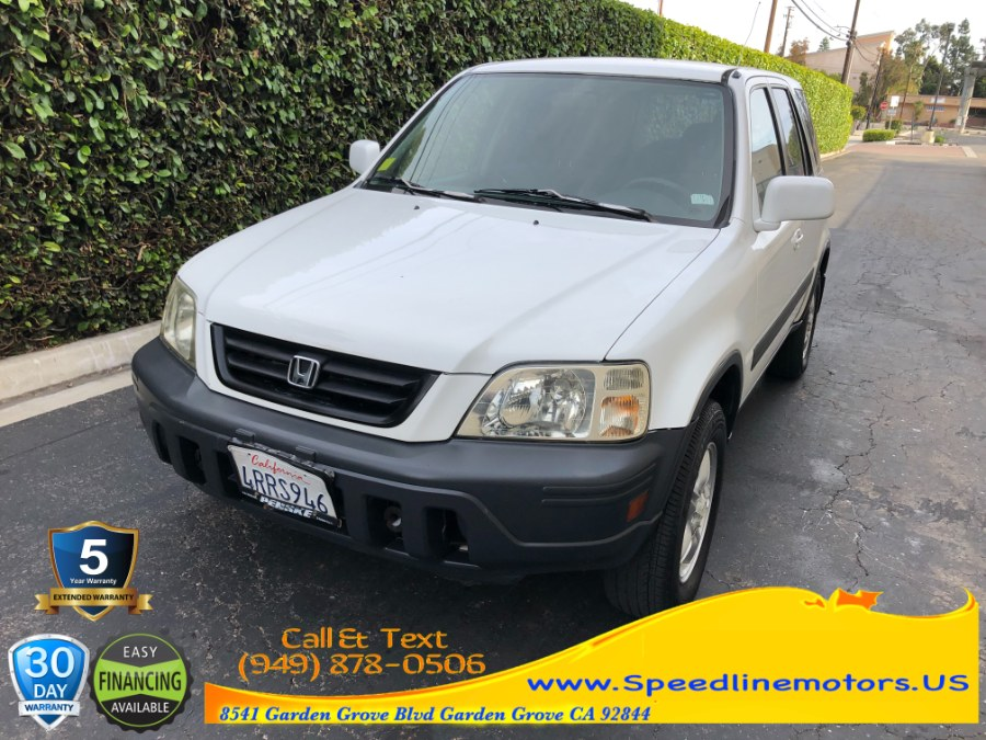 Used Honda CR-V 4WD EX Auto 2001 | Speedline Motors. Garden Grove, California