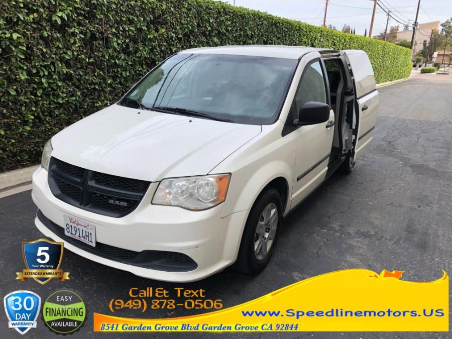 Used 2013 Ram Cargo Van in Garden Grove, California | Speedline Motors. Garden Grove, California