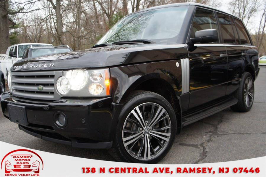 Used Land Rover Range Rover 4WD 4dr HSE 2009 | Ramsey Motor Cars Inc. Ramsey, New Jersey