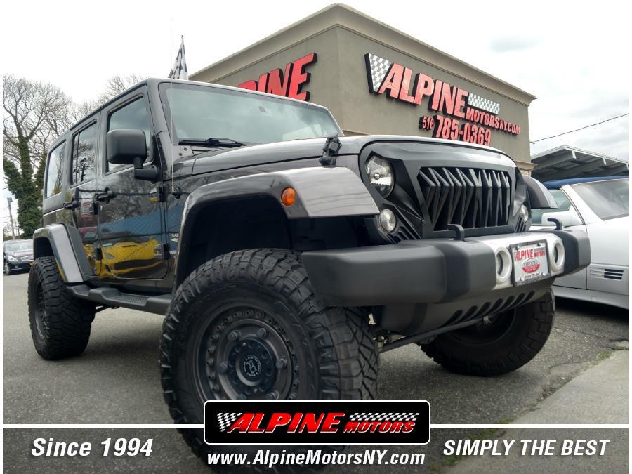 Used Jeep Wrangler Unlimited 4WD 4dr Sahara 2014 | Alpine Motors Inc. Wantagh, New York