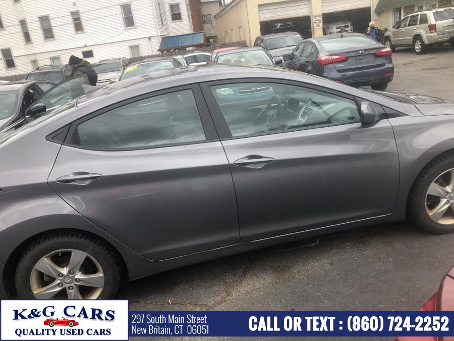 Used Hyundai Elantra 4dr Sdn Auto GLS 2012   K and G Cars . New Britain, Connecticut