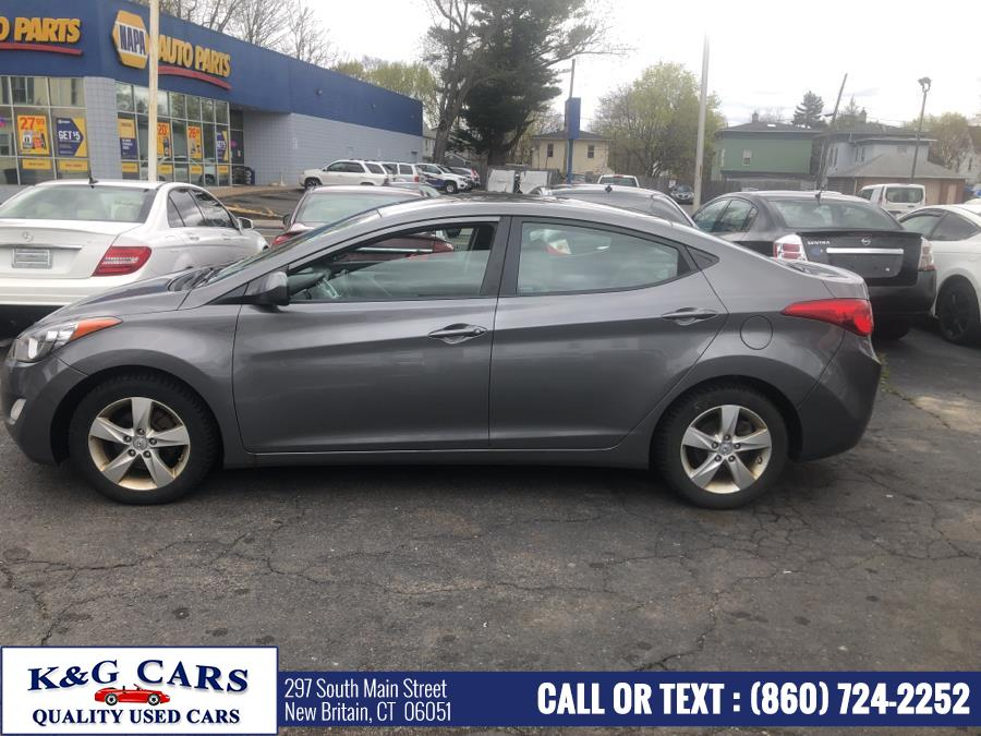 Used Hyundai Elantra 4dr Sdn Auto GLS 2012 | K and G Cars . New Britain, Connecticut