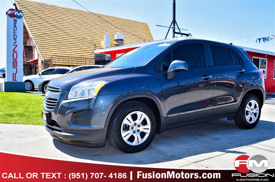Used 2016 Chevrolet Trax in Moreno Valley, California | Fusion Motors Inc. Moreno Valley, California