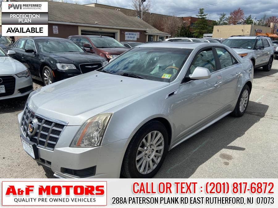 Used Cadillac CTS Sedan 4dr Sdn 3.0L Luxury AWD 2012 | A&F Motors LLC. East Rutherford, New Jersey