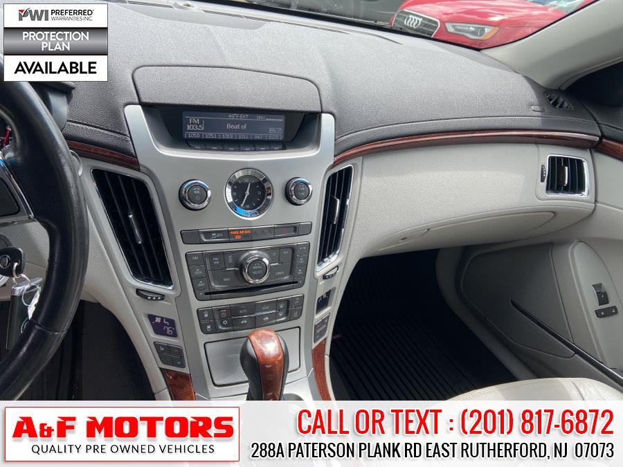 Used Cadillac CTS Sedan 4dr Sdn 3.0L Luxury AWD 2012   A&F Motors LLC. East Rutherford, New Jersey