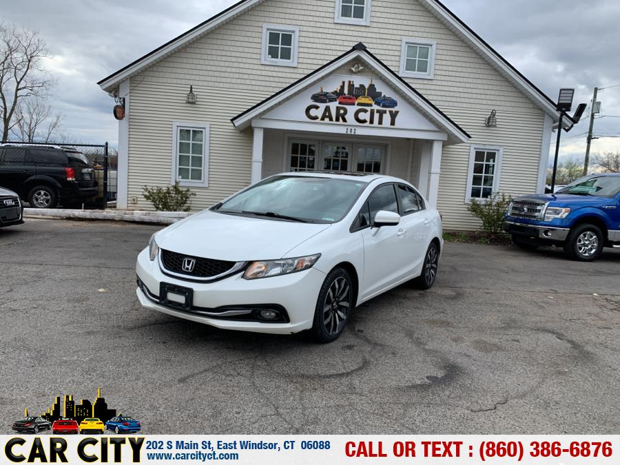 Used Honda Civic Sedan 4dr CVT EX-L 2015   Car City LLC. East Windsor, Connecticut
